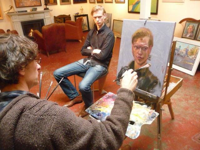 Uw portret laten schilderen